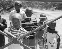 Local tribe's children