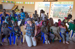 class time with the tribe's children