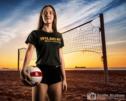 Beach Volleyball Portraits