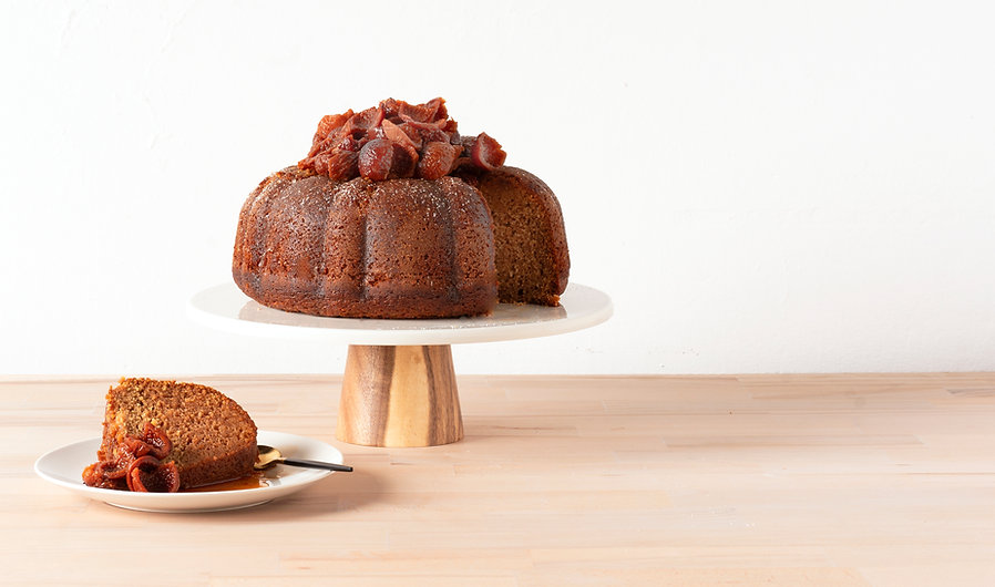 GALINI BAKES_QUANDONG CAKE