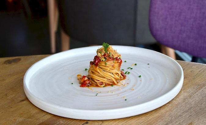 Pasta Swirl at Lumi Dining Sydney