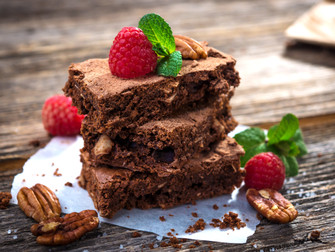 Barossa Brownies with Walnuts