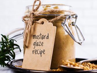 Christmas Ham Mustard Glaze