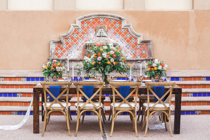 European Citrus Wedding Inspiration