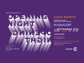 ✪ SAVE THE DATE: ALPHA DISTRICT EDITION.