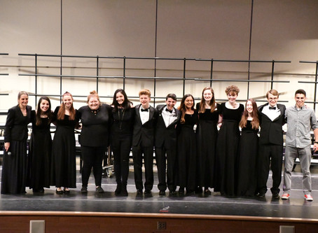 Choral Department Update - June 2019