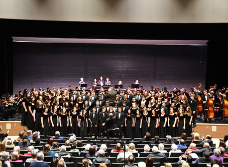 Choral Department Update - December 2019