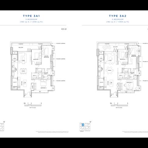 3 Bedroom 3A1 & 3A2.png