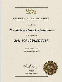 2013-Top-Producer Century 21