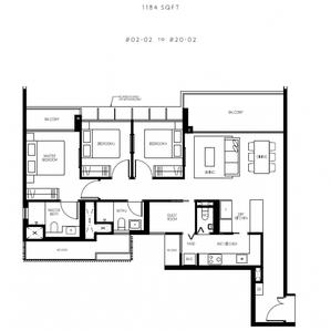 3 Bedroom + Guest Room + Type C2.PNG