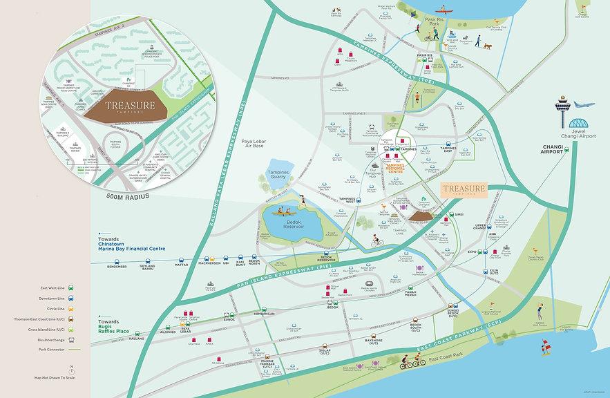 Treasure-at-Tampines-Location-Map