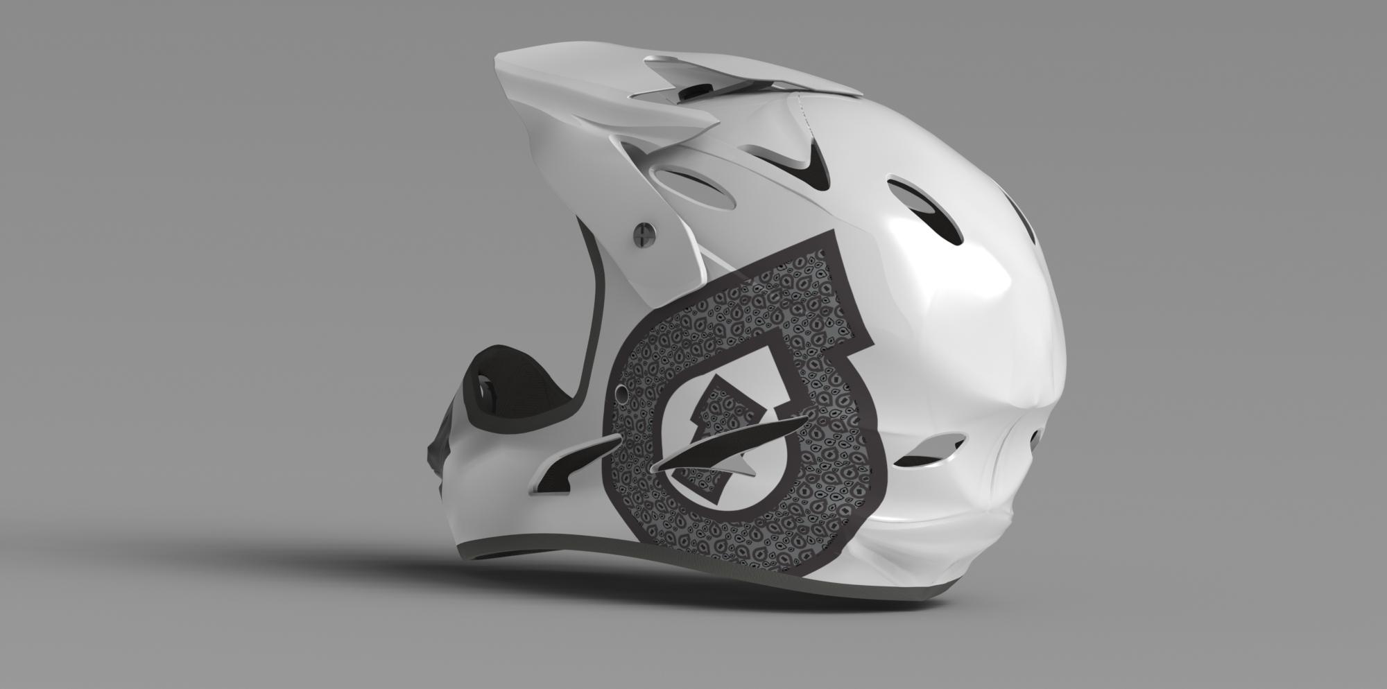 Helmet Render 6