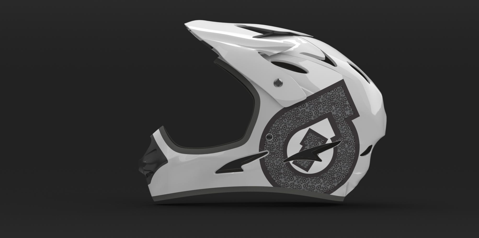 Helmet Render 5