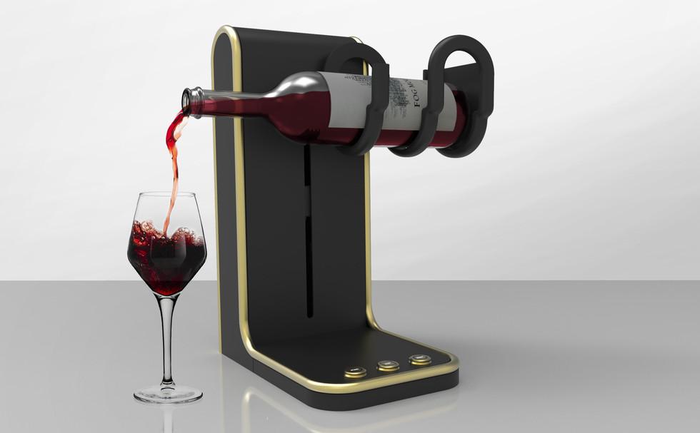 Universal Bottle Pourer