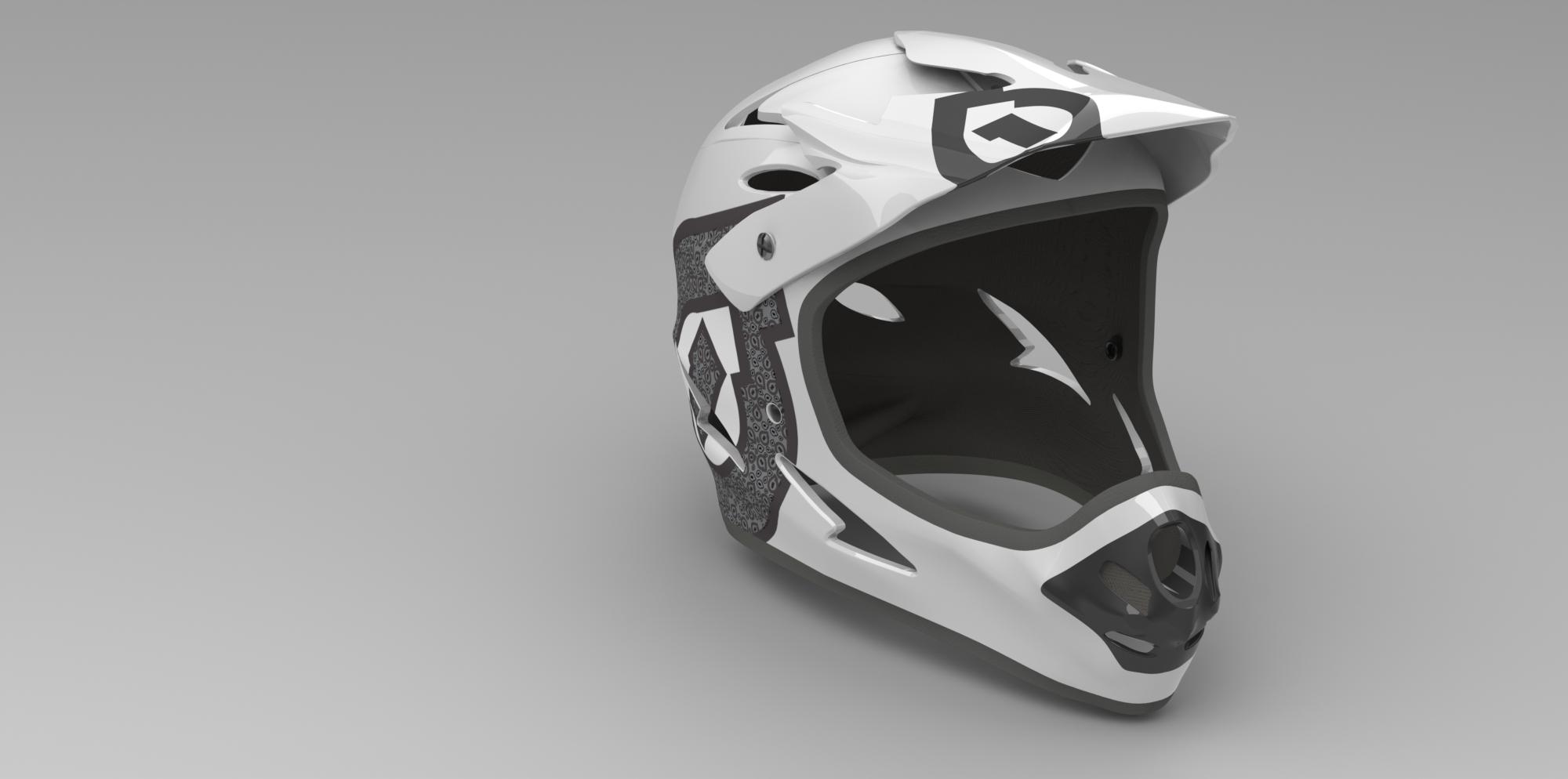 Helmet Render 3