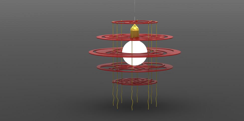 Contempory Chinese Lantern