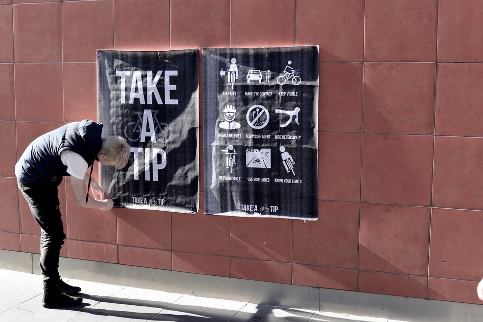 Take a Tip Campaign