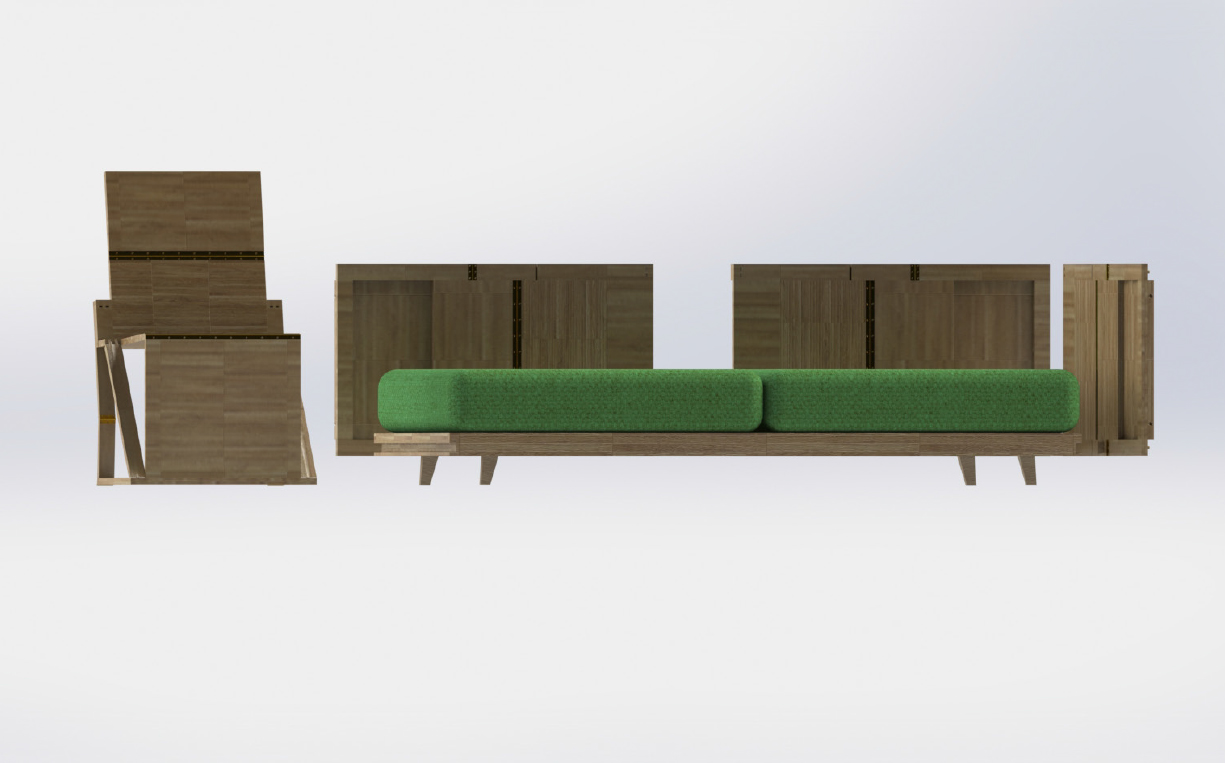Small Spaces Seating 5
