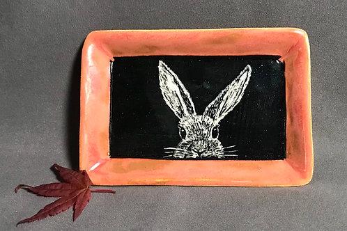 Small plate: Errant hare