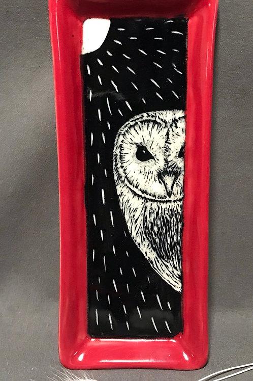 Small plate: Got owl?