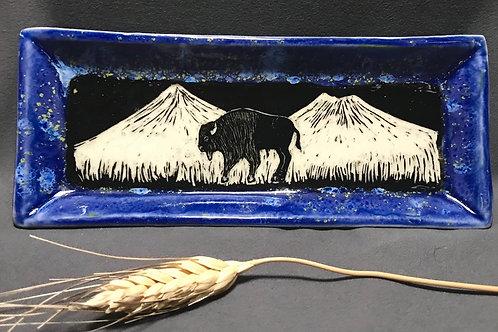 Small plate: Cosmic buffalo