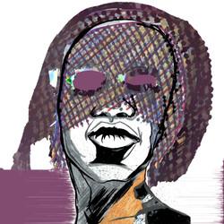 Mixed Media - Ink Drawing with Digital Editing