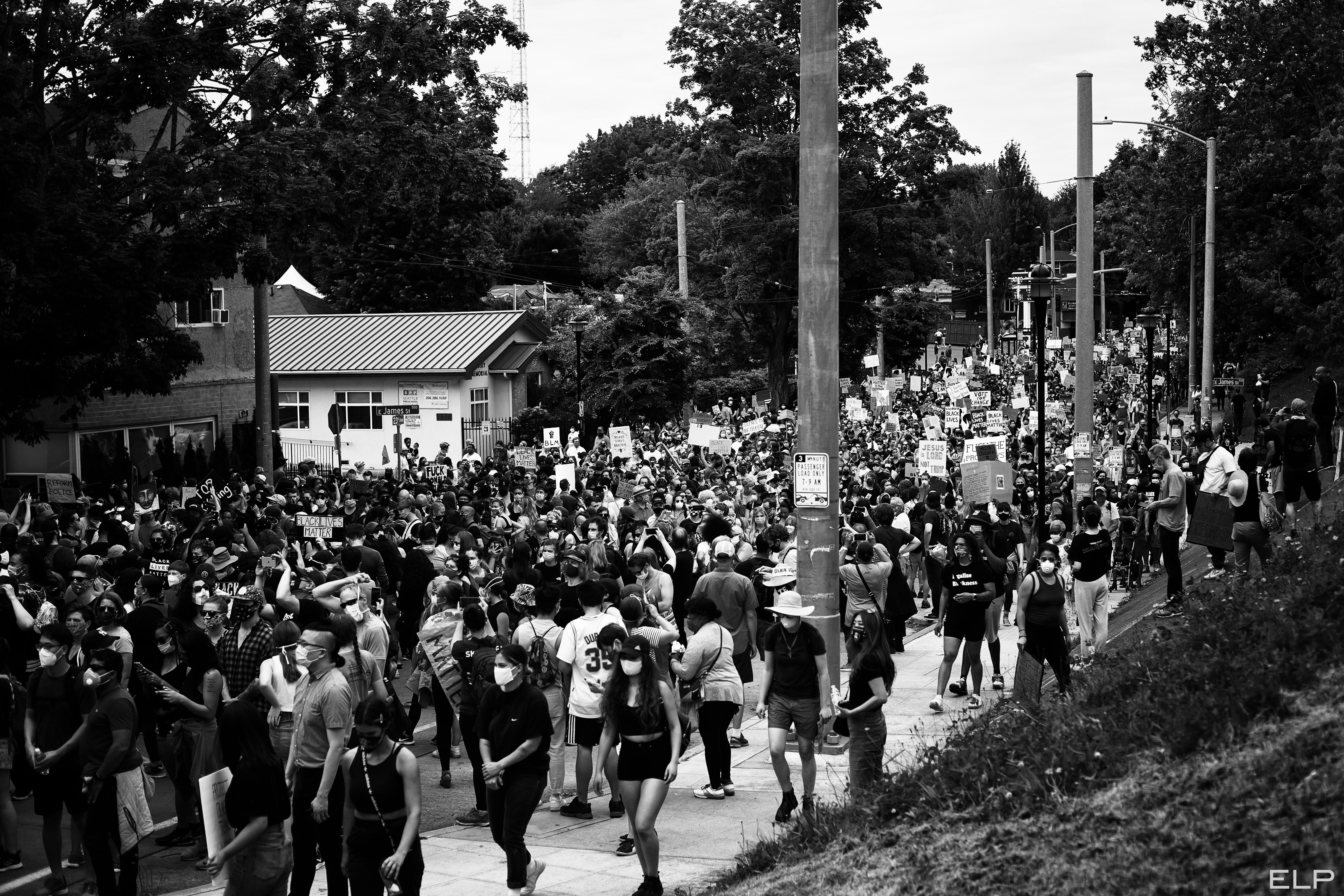 Juneteenth Crowd Seattle