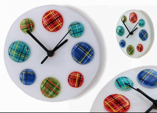 Tartan Spot Clock