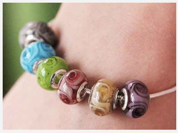 Have your beads made in to charm beads