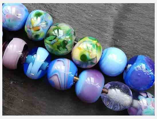 Beads Made on one of our workshops