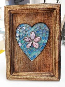 heart in frame