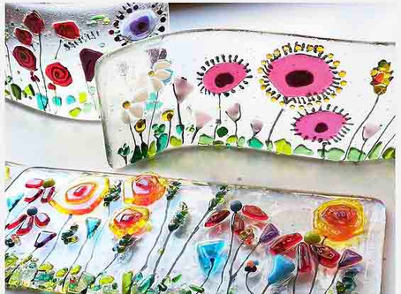 Fused Glass is cool again..... and not just because of our workshops!