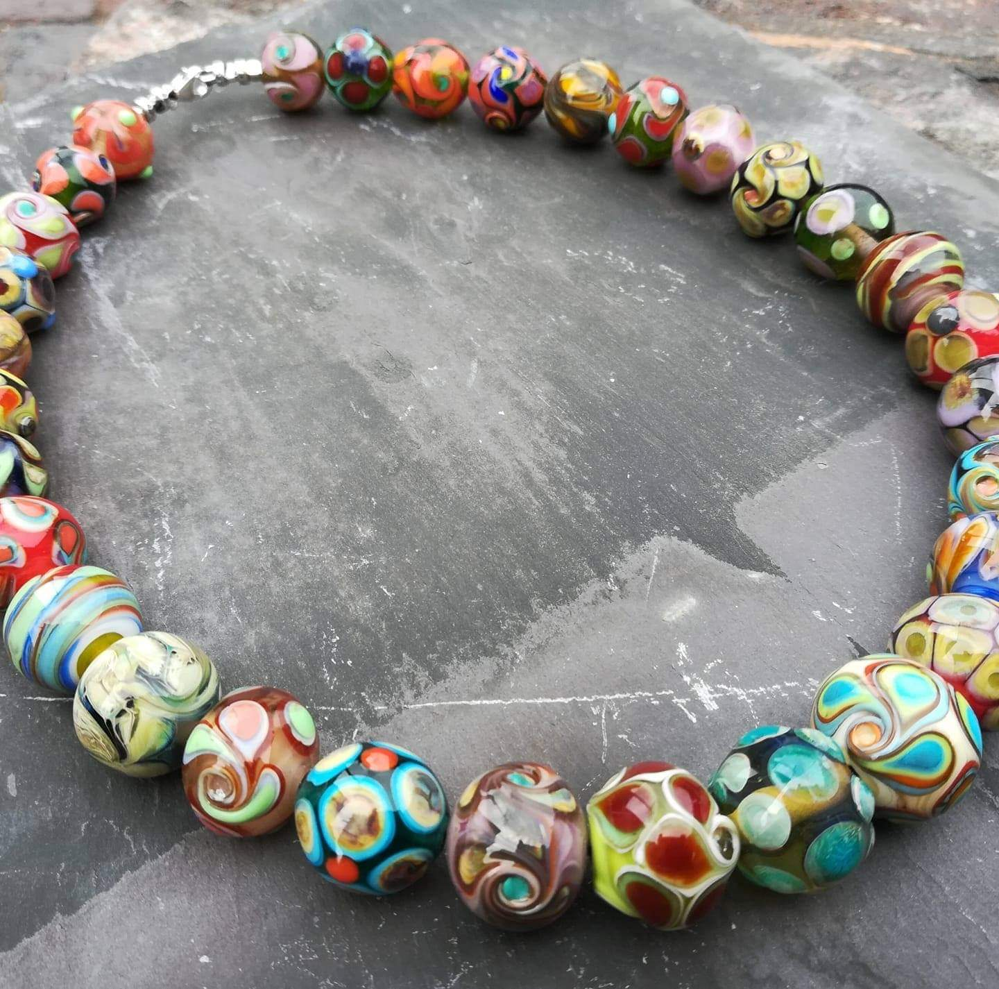 Beautiful Necklace Made By Sarah