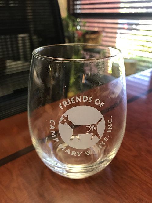 NEW Stemless Wine Glass