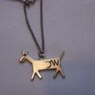 Silver Horse Necklace