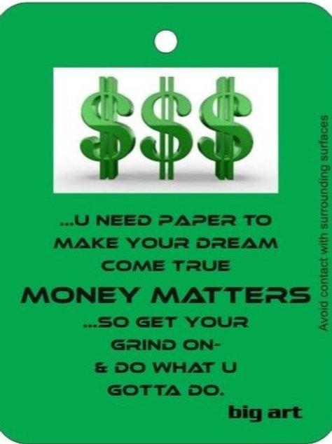 Money Matters Air Freshener