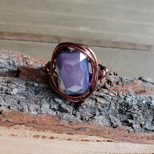 Hillary's Violet In Copper