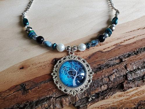 Lauren's The Moody Tree, Necklace & Earring Set