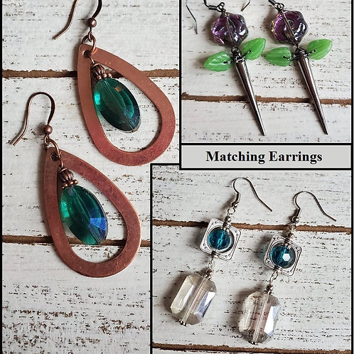 Add Matching Earrings (ORNATE)