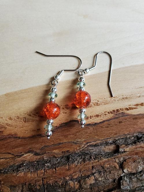 Vavia's Orange Soda Earrings