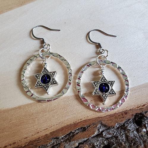 Vavia's Shalom Earrings
