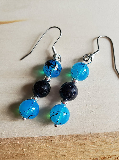 Vavia's Two By Two, Beads of Blue