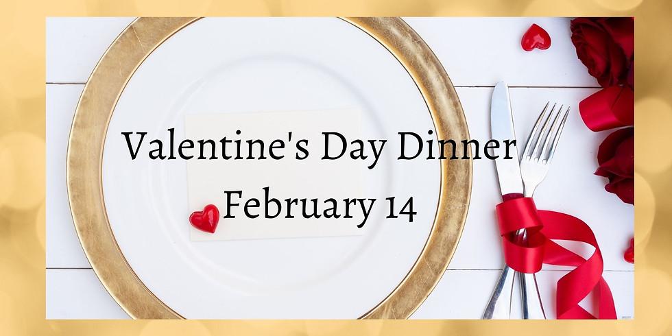 1920s Valentine's Day Dinner Fundraiser