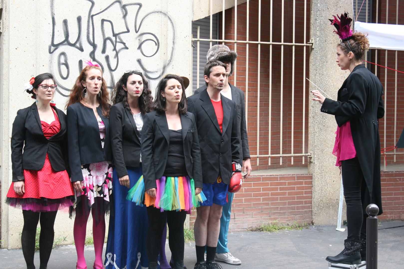 Globe-Chanteurs 6 / L'ATELIER DE LA VOIX