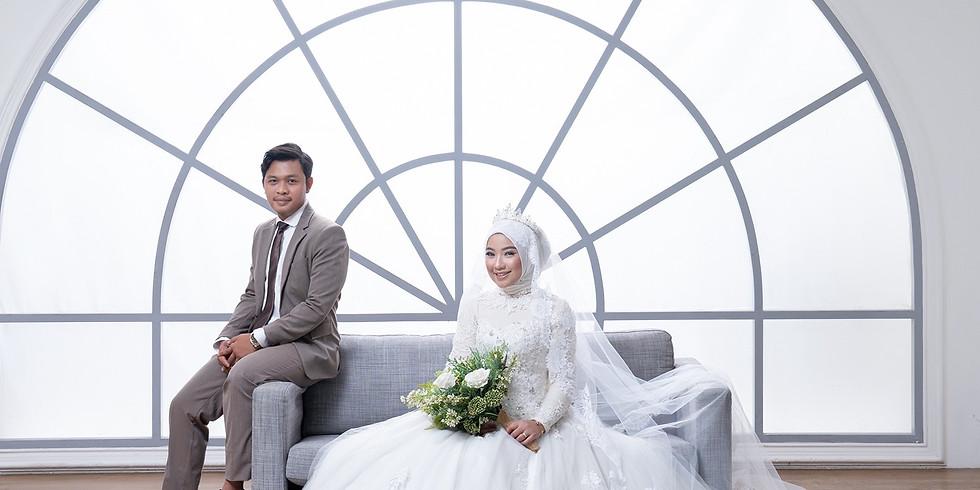 Pernikahan Erica Nursanti Dewi dan Eduan Rinaldi