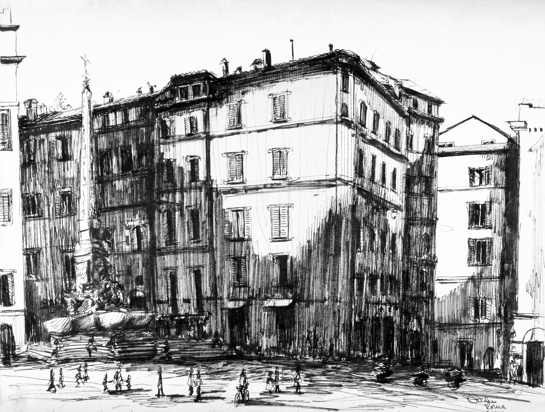Piazza di Pantheon, No. 2