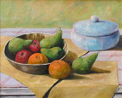 Still Life with Blue Tureen