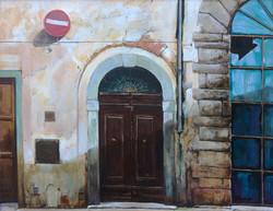 Behind My Studio, Rome