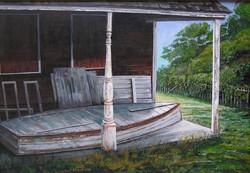 Block Island Rowboat