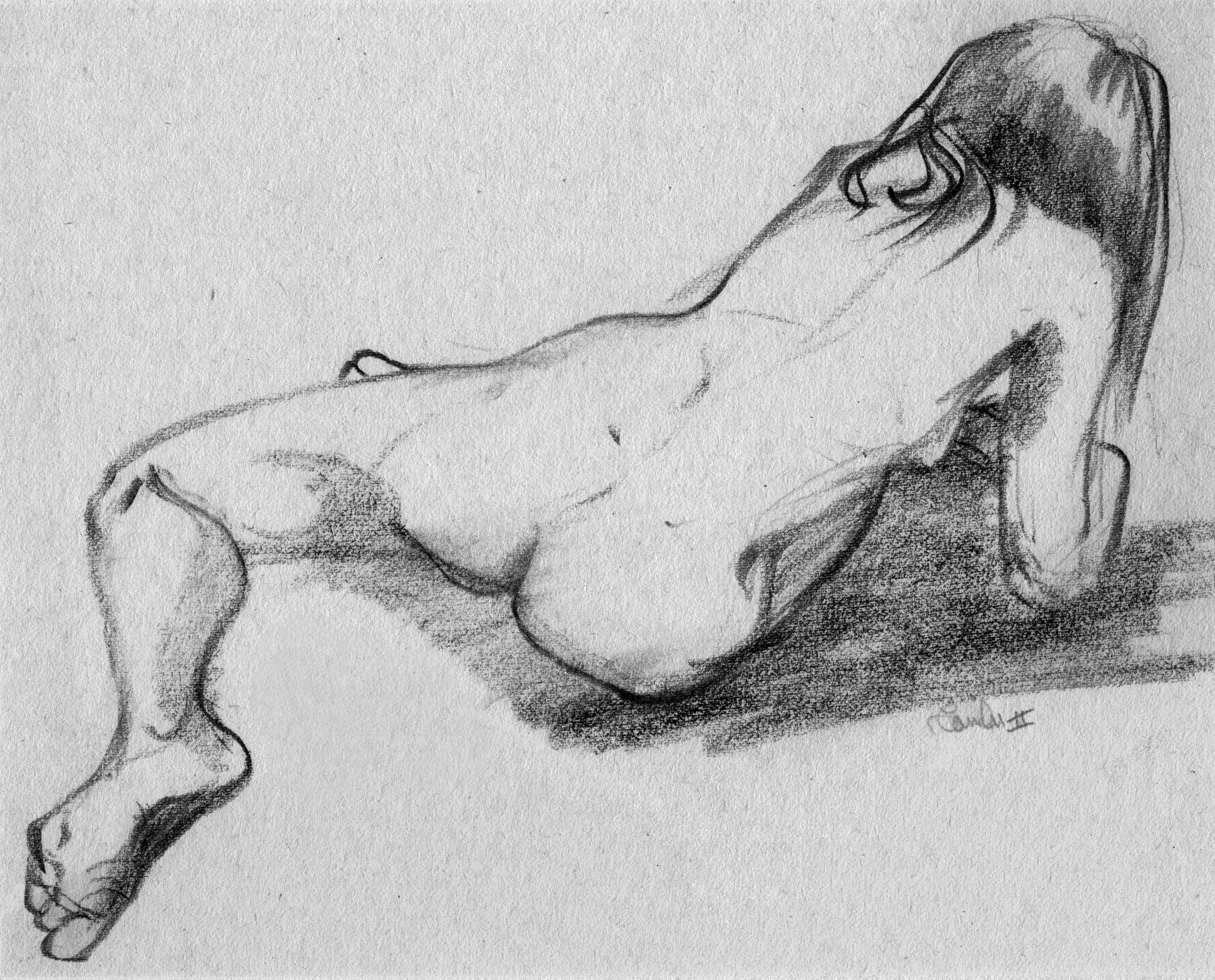 Figure Drawing, No.1